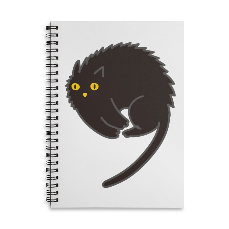 Nine Accessories Lined Spiral Notebook by yeohgh