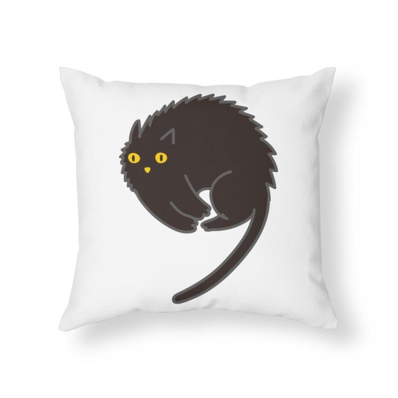 Nine Home Throw Pillow by yeohgh