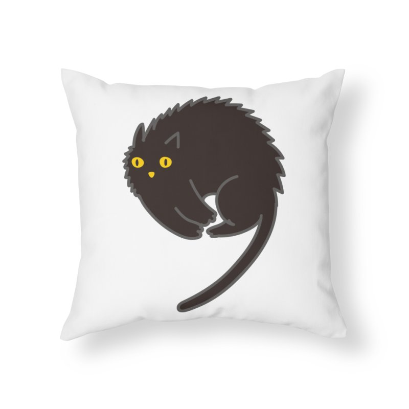 Nine Home Throw Pillow by yeohgh