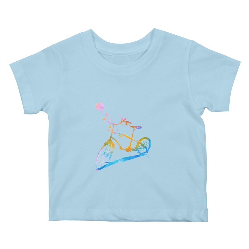 Nature Call Kids Baby T-Shirt by yeohgh