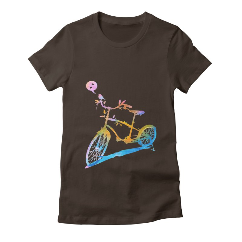 Nature Call Women's Fitted T-Shirt by yeohgh