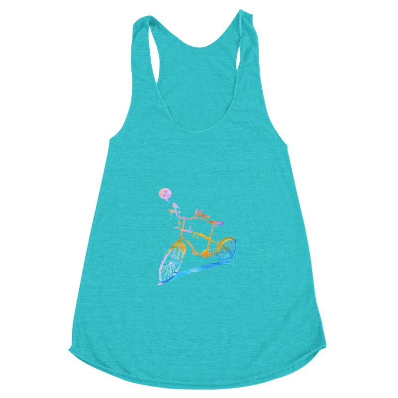 Nature Call Women's Racerback Triblend Tank by yeohgh