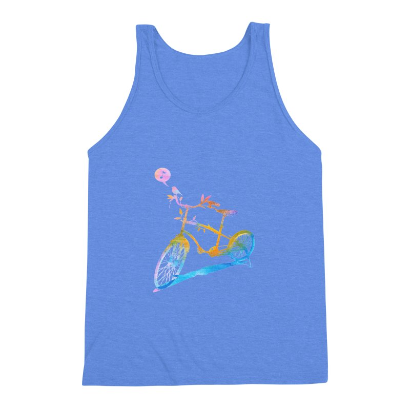 Nature Call Men's Triblend Tank by yeohgh