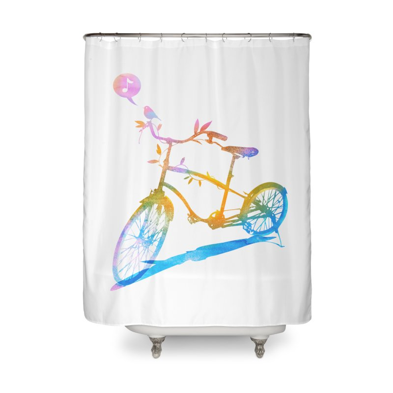 Nature Call Home Shower Curtain by yeohgh