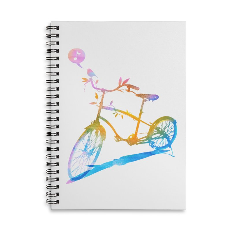 Nature Call Accessories Lined Spiral Notebook by yeohgh