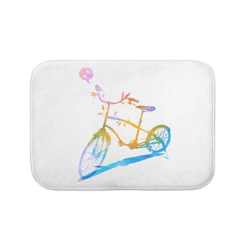 Nature Call Home Bath Mat by yeohgh