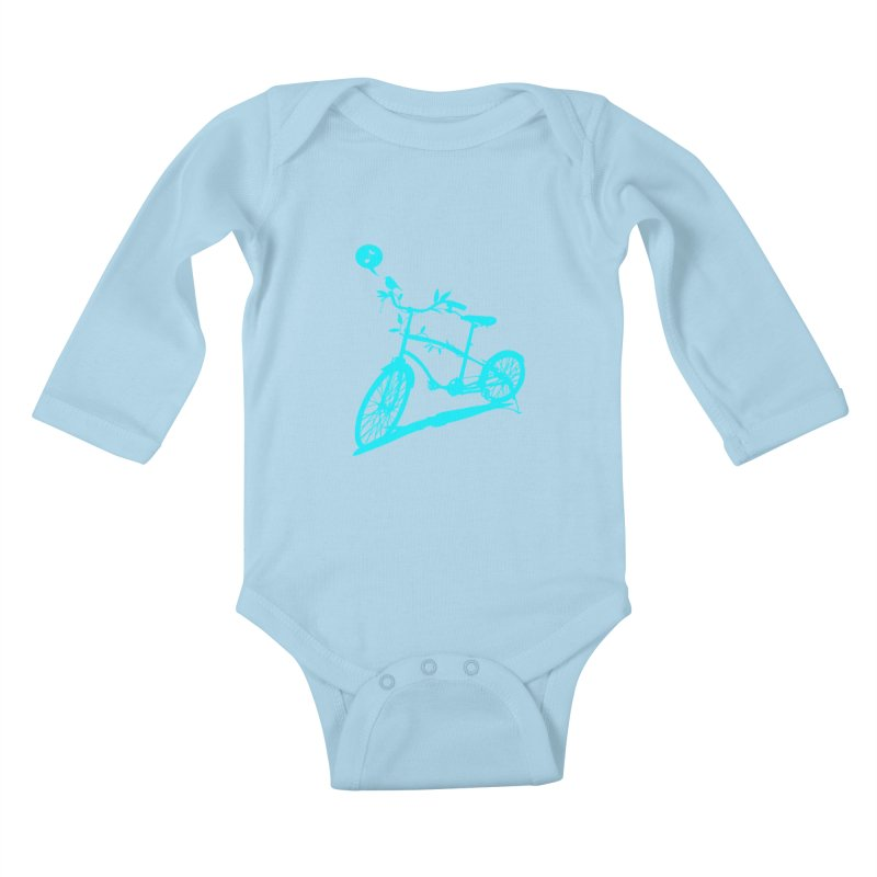 Nature Call Kids Baby Longsleeve Bodysuit by yeohgh