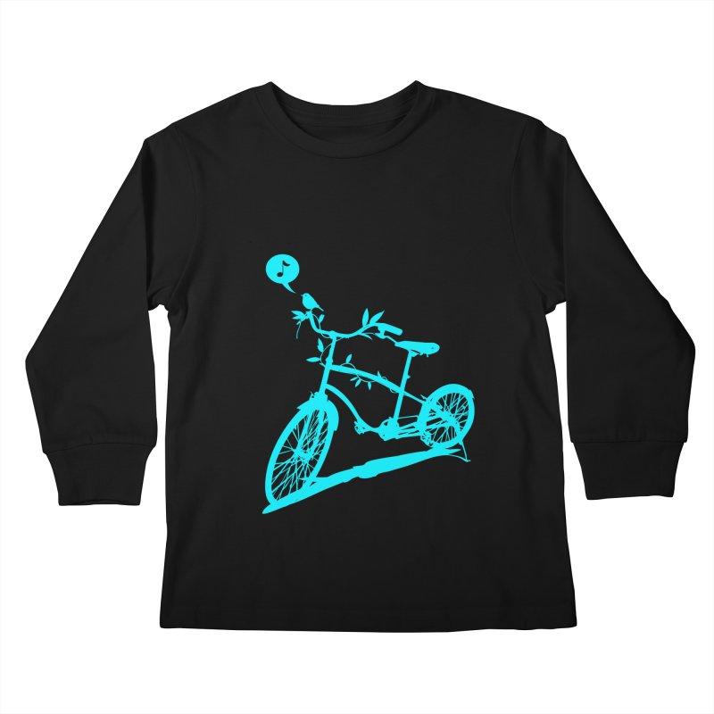 Nature Call Kids Longsleeve T-Shirt by yeohgh