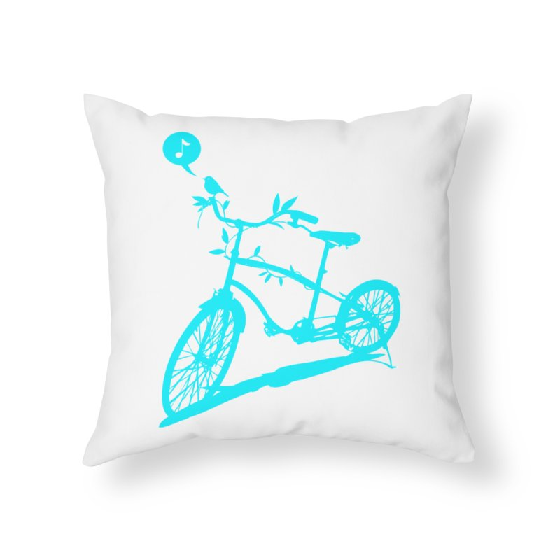 Nature Call Home Throw Pillow by yeohgh