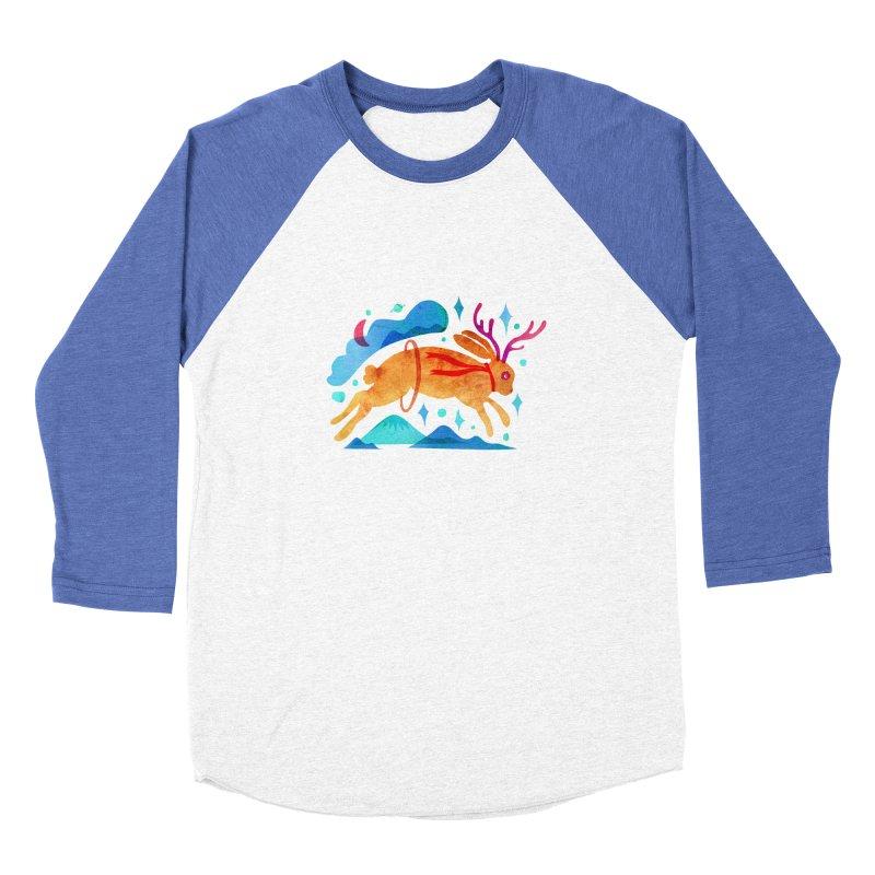 The Jackalopes Men's Baseball Triblend Longsleeve T-Shirt by yeohgh