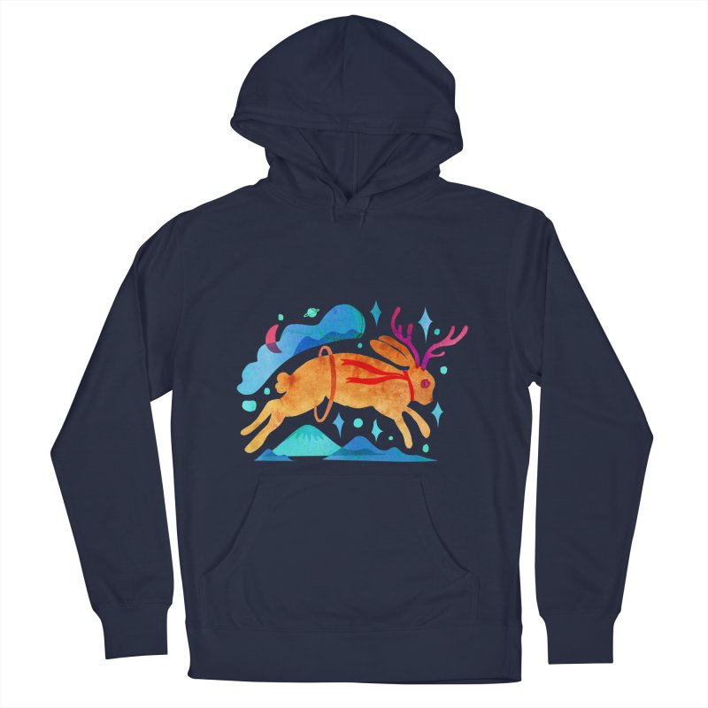 The Jackalopes Men's French Terry Pullover Hoody by yeohgh