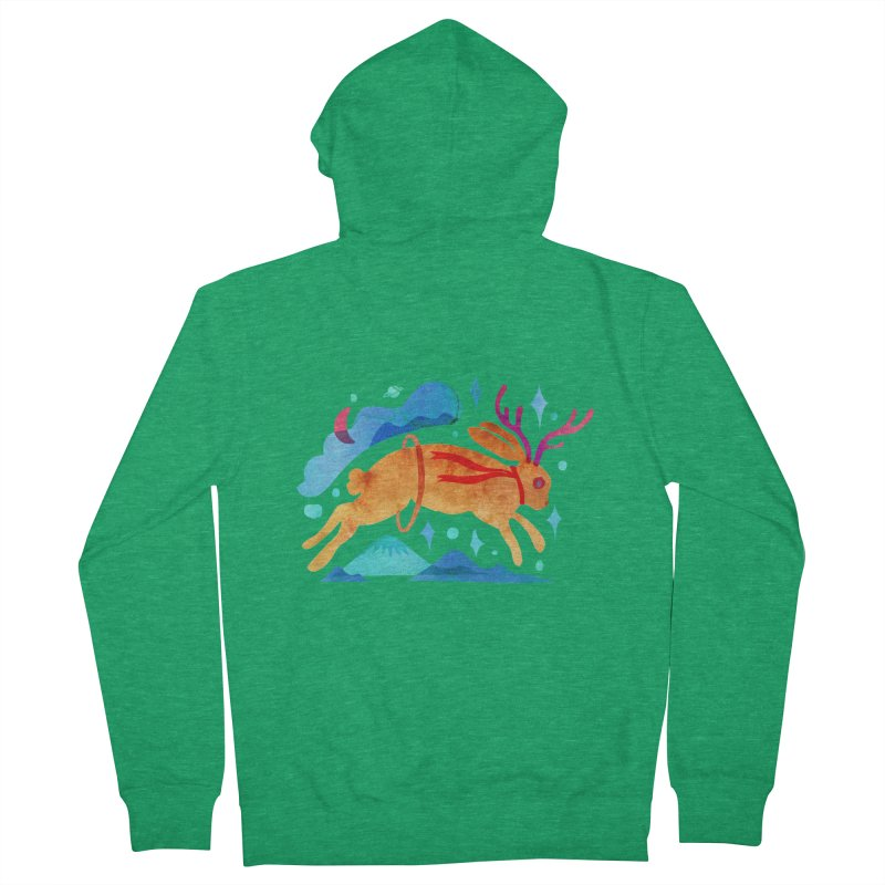 The Jackalopes Men's Zip-Up Hoody by yeohgh