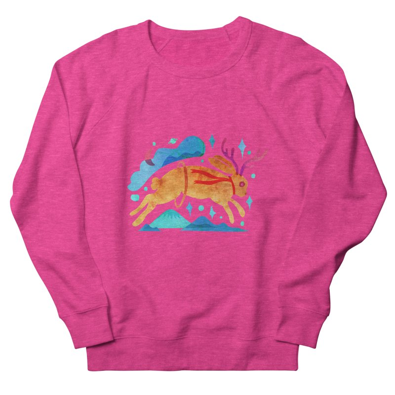 The Jackalopes Women's French Terry Sweatshirt by yeohgh