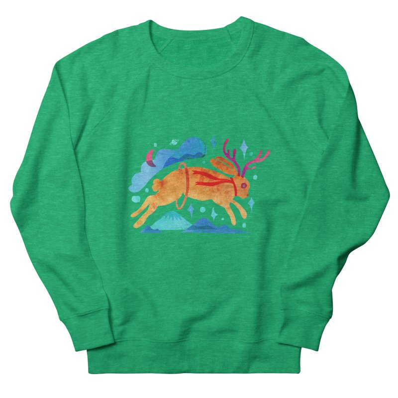 The Jackalopes Men's French Terry Sweatshirt by yeohgh