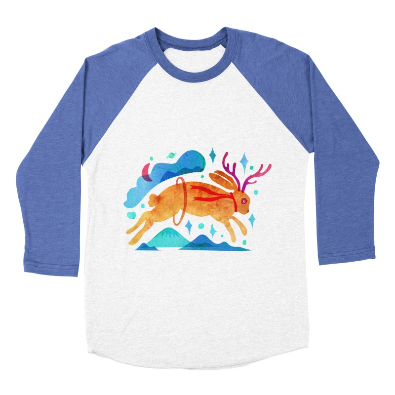 The Jackalopes Women's Baseball Triblend Longsleeve T-Shirt by yeohgh