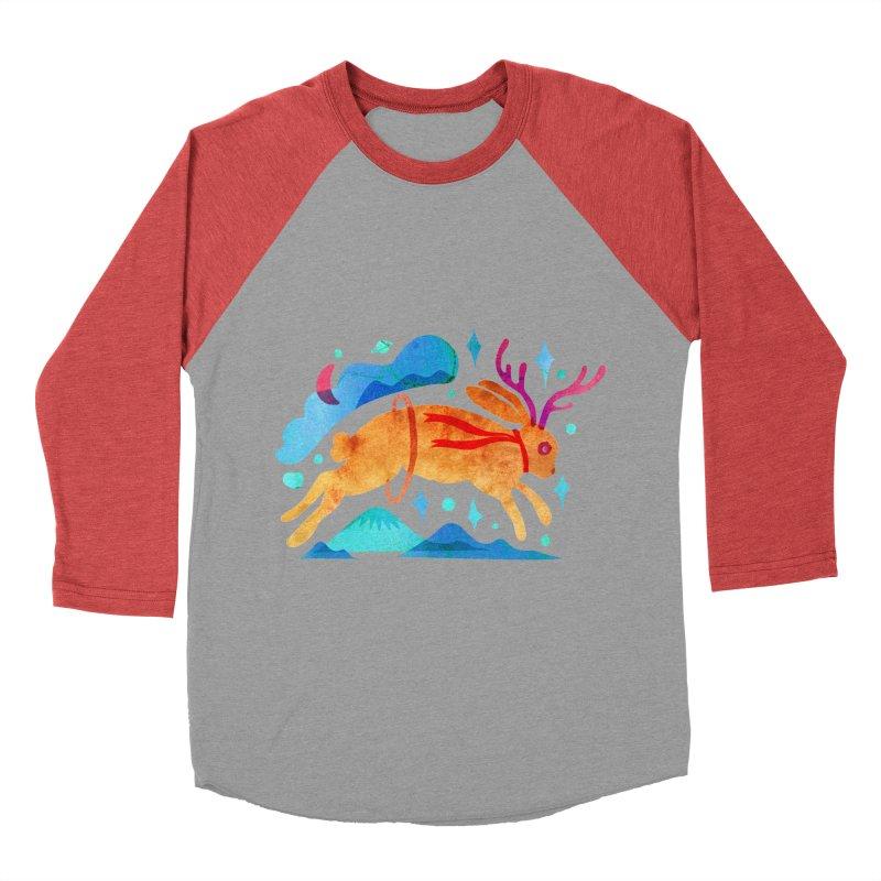 The Jackalopes Men's Baseball Triblend T-Shirt by yeohgh