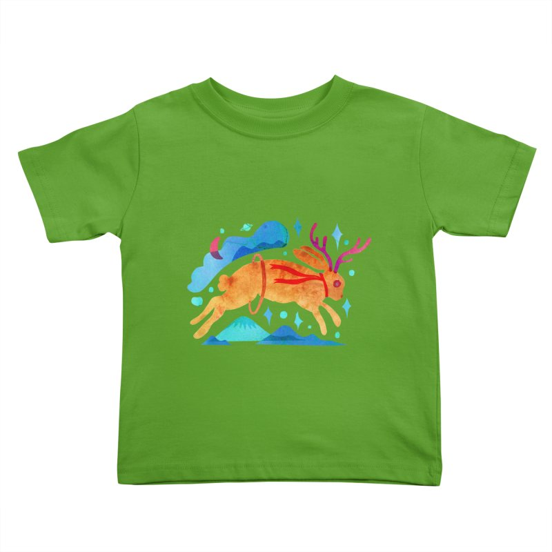 The Jackalopes Kids Toddler T-Shirt by yeohgh