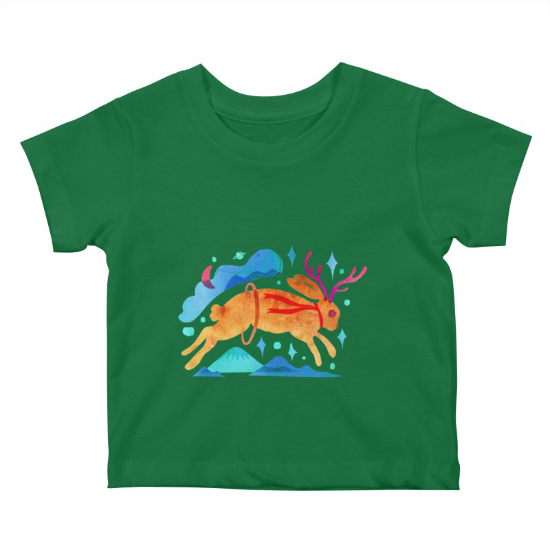 The Jackalopes Kids Baby T-Shirt by yeohgh
