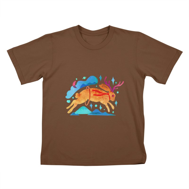 The Jackalopes Kids T-Shirt by yeohgh