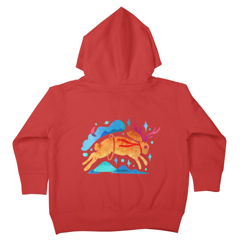 The Jackalopes Kids Toddler Zip-Up Hoody by yeohgh