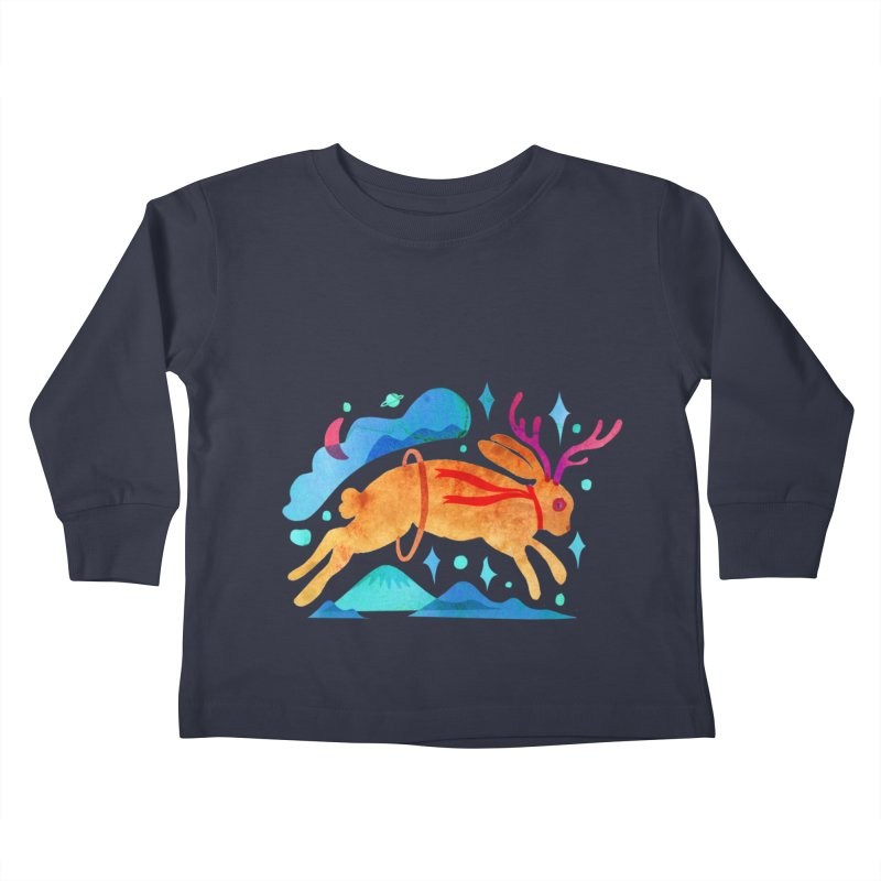 The Jackalopes Kids Toddler Longsleeve T-Shirt by yeohgh
