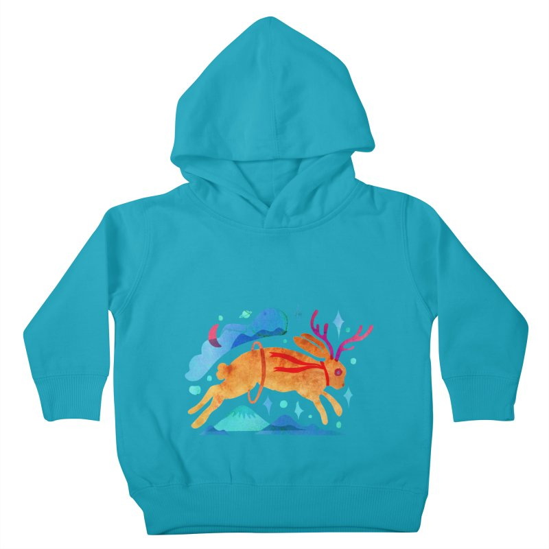 The Jackalopes Kids Toddler Pullover Hoody by yeohgh