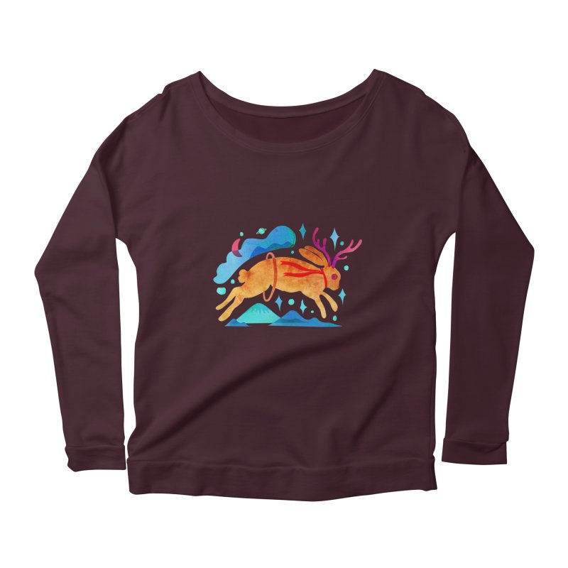 The Jackalopes Women's Scoop Neck Longsleeve T-Shirt by yeohgh
