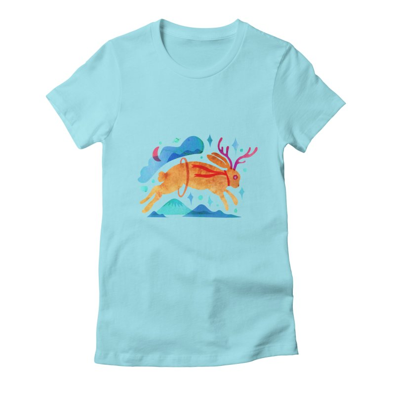 The Jackalopes Women's Fitted T-Shirt by yeohgh