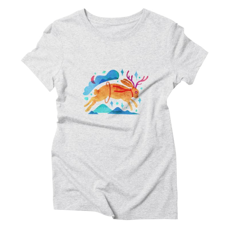 The Jackalopes Women's Triblend T-Shirt by yeohgh