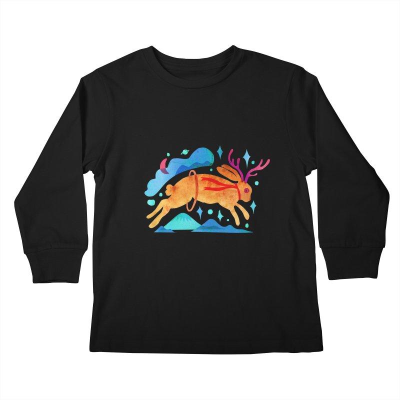 The Jackalopes Kids Longsleeve T-Shirt by yeohgh