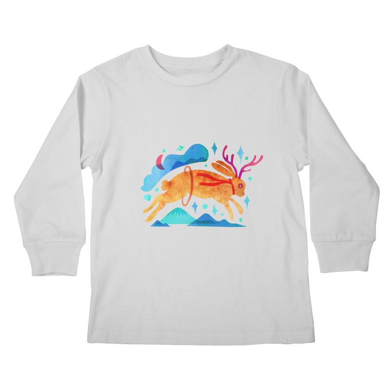 The Jackalopes Kids Longsleeve T-Shirt by yeohgh