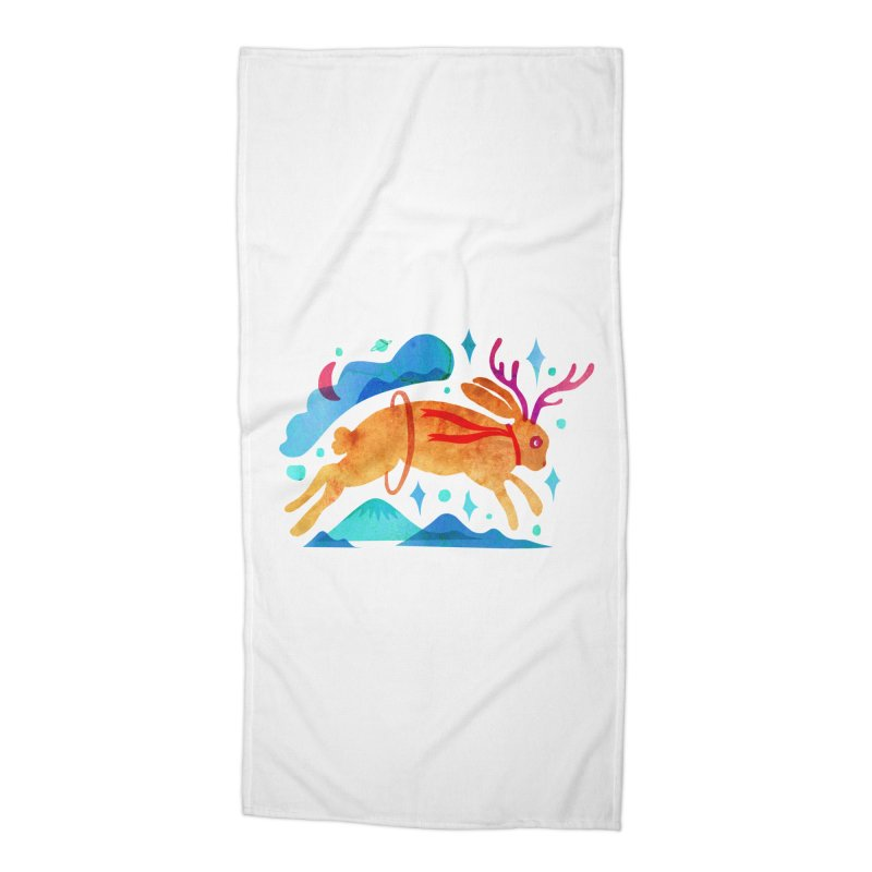 The Jackalopes Accessories Beach Towel by yeohgh