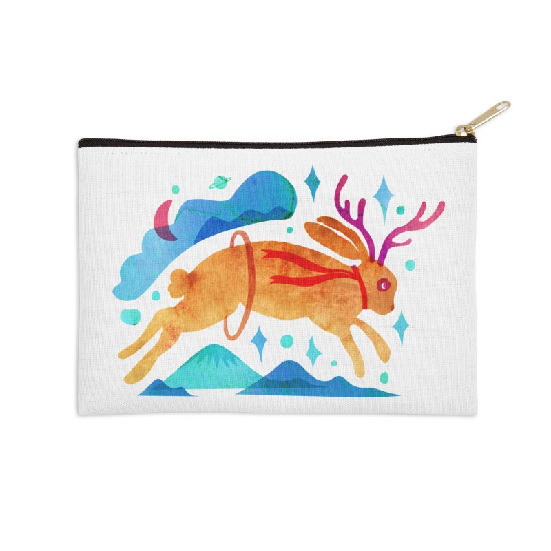 The Jackalopes Accessories Zip Pouch by yeohgh