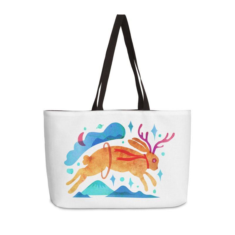 The Jackalopes Accessories Weekender Bag Bag by yeohgh