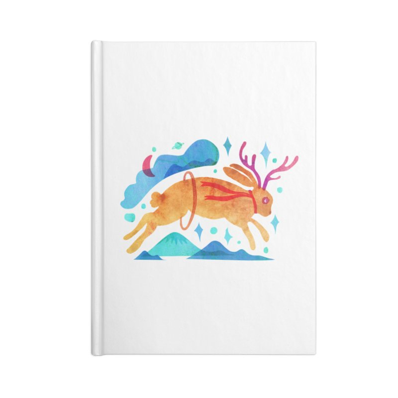 The Jackalopes Accessories Blank Journal Notebook by yeohgh