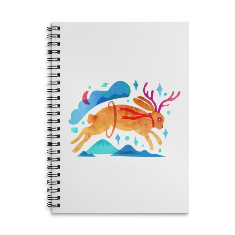 The Jackalopes Accessories Lined Spiral Notebook by yeohgh
