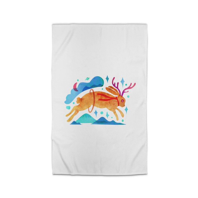 The Jackalopes Home Rug by yeohgh