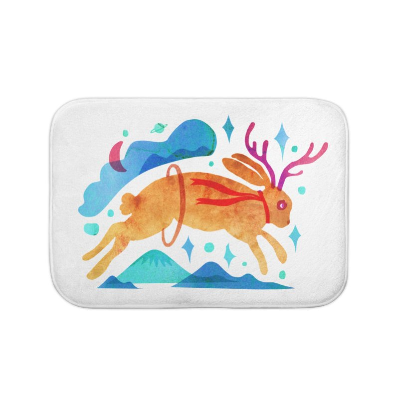 The Jackalopes Home Bath Mat by yeohgh