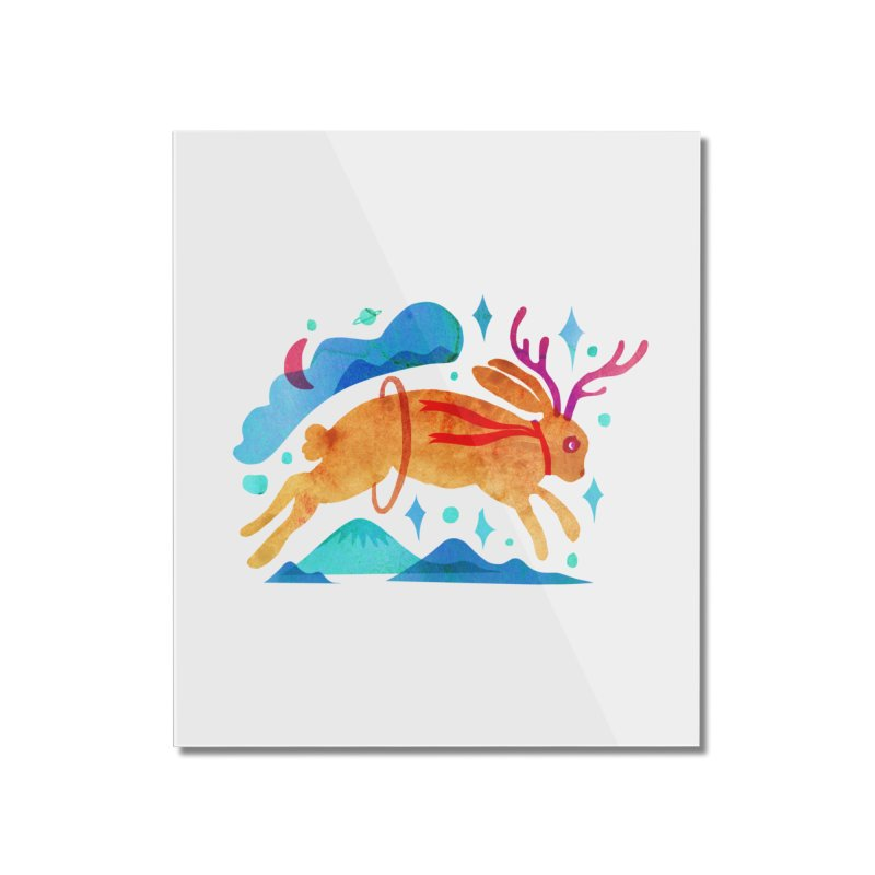 The Jackalopes Home Mounted Acrylic Print by yeohgh