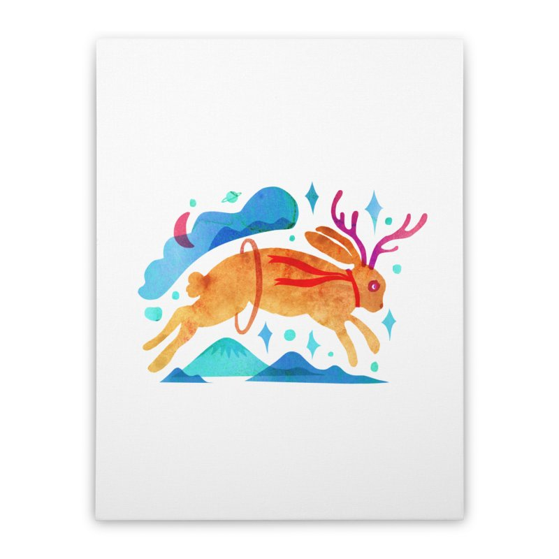 The Jackalopes Home Stretched Canvas by yeohgh