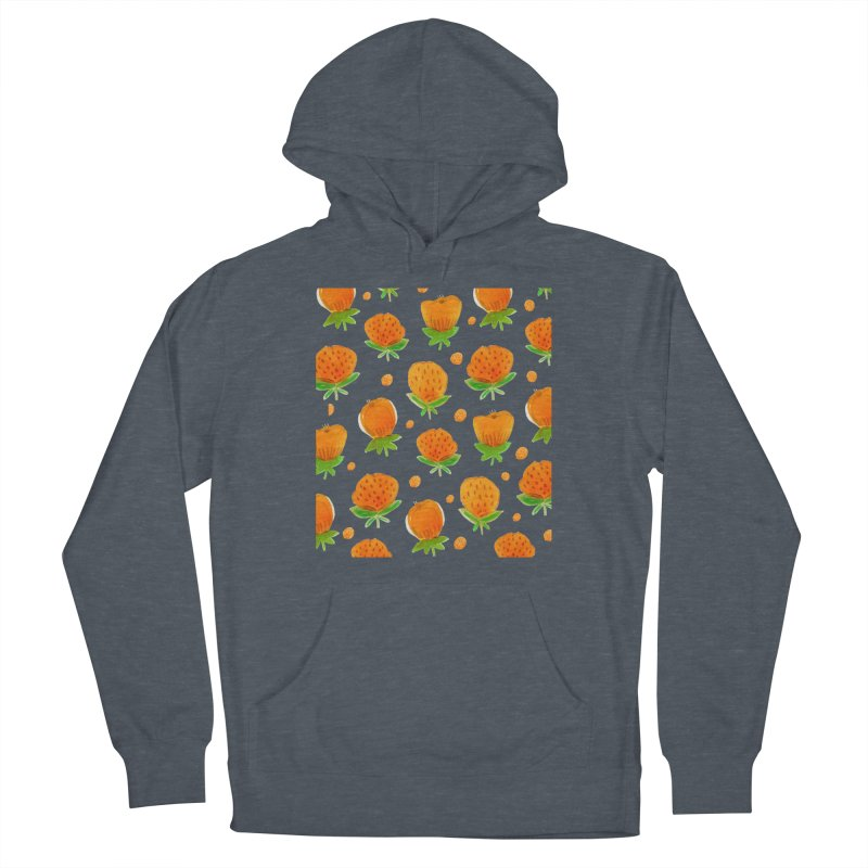 Blossom Men's French Terry Pullover Hoody by yeohgh