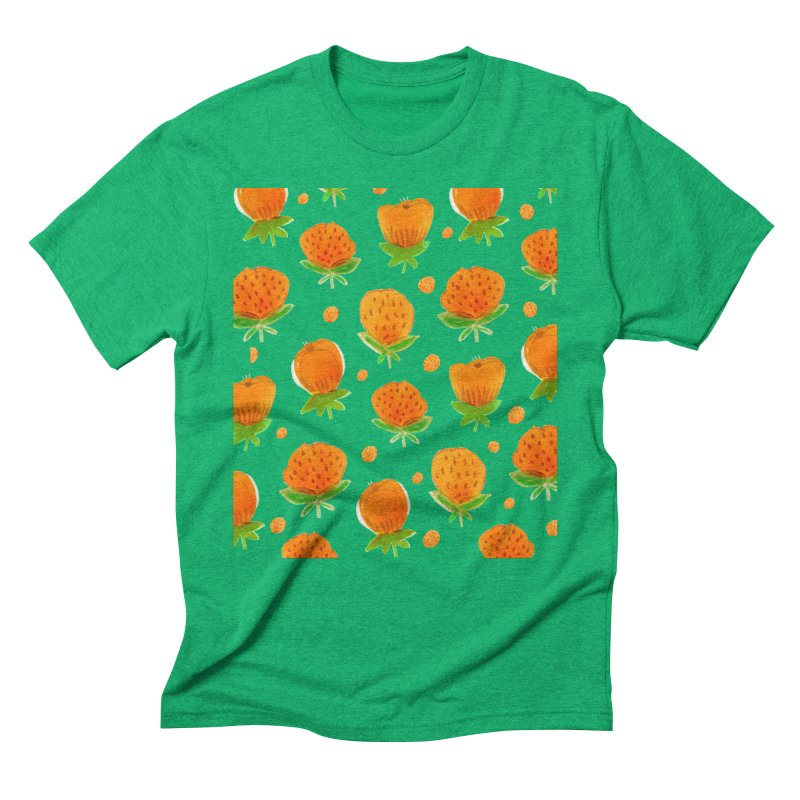 Blossom Men's Triblend T-Shirt by yeohgh