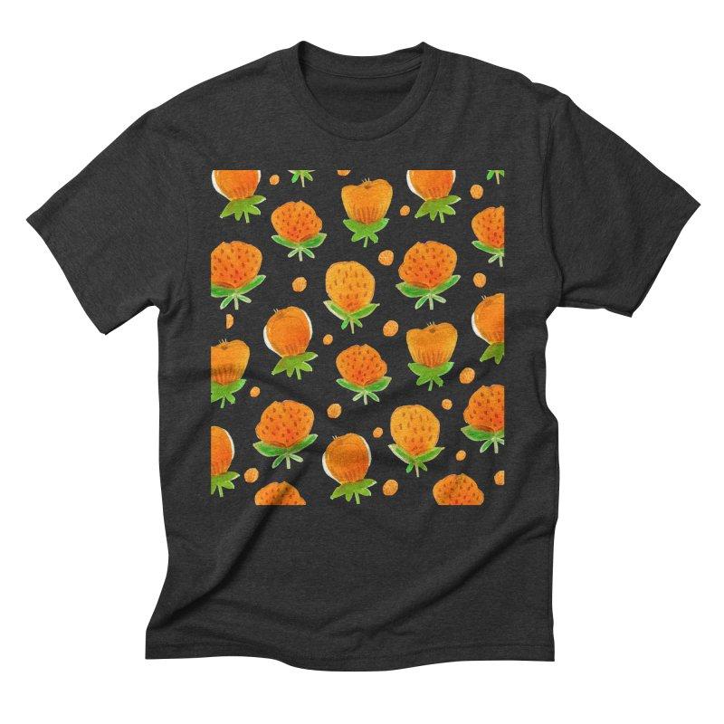 Blossom Men's Triblend T-Shirt by yeohgh