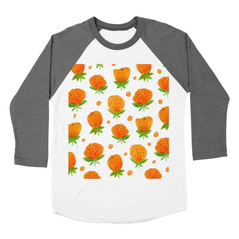 Blossom Men's Baseball Triblend Longsleeve T-Shirt by yeohgh
