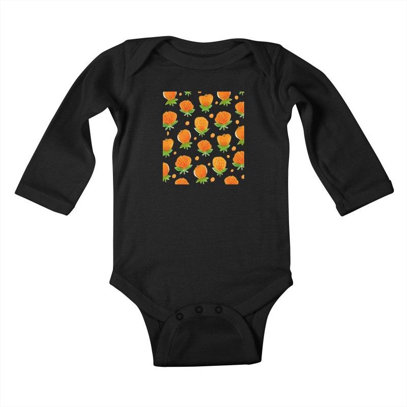 Blossom Kids Baby Longsleeve Bodysuit by yeohgh