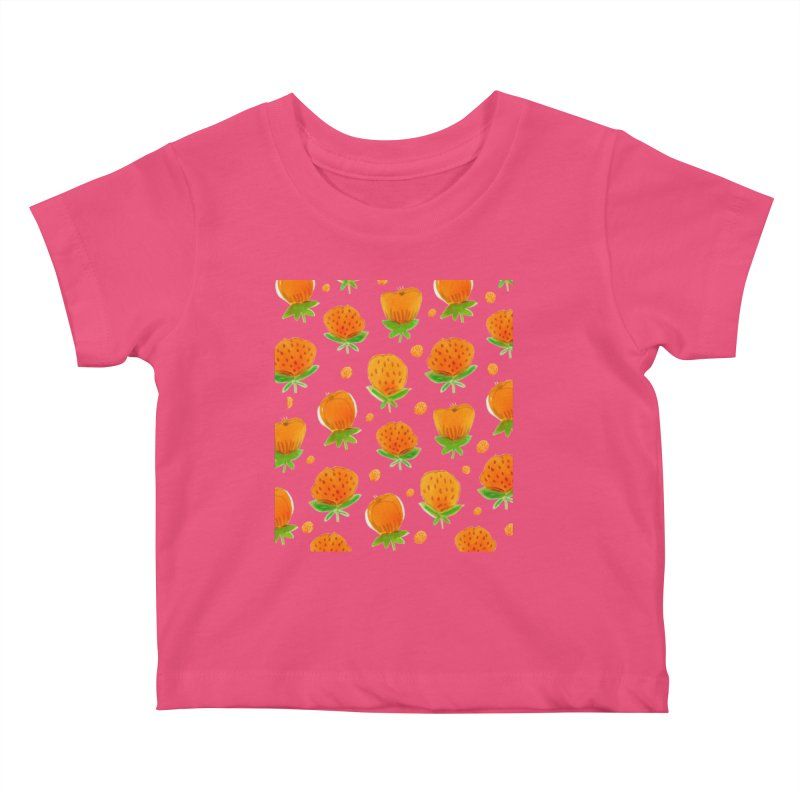 Blossom Kids Baby T-Shirt by yeohgh