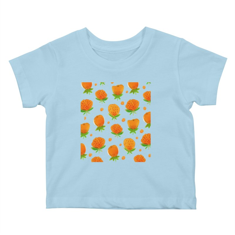 Blossom Kids Baby T-Shirt by yeohgh