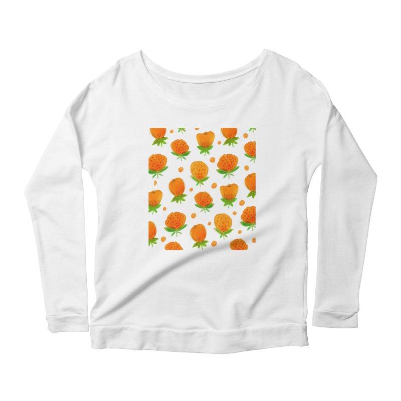 Blossom Women's Scoop Neck Longsleeve T-Shirt by yeohgh