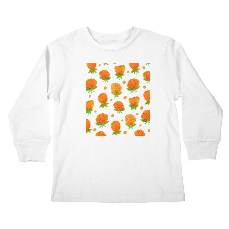 Blossom Kids Longsleeve T-Shirt by yeohgh