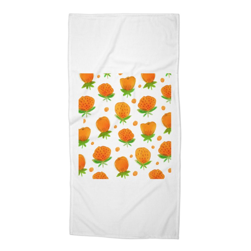 Blossom Accessories Beach Towel by yeohgh